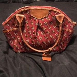 Dooney and Bourke bowling style bag